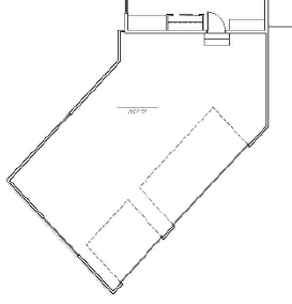 The Harper with optional canted garage